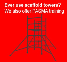 PASMA training from smart platforms