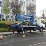 NGU smart platforms cherry picker hire London, Birmingham, Manchester and Sheffield