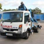 smart platforms z17 truck mounted powered access sale