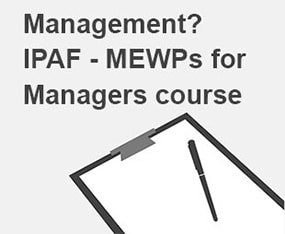 IPAF MEWPs for managers training from smart platforms