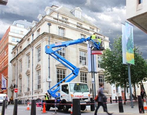Truck mounted powered access hire
