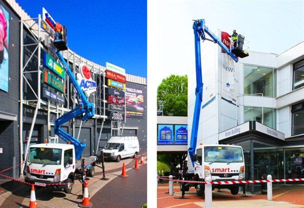 Z19 Truck mounted cherry picker platform