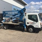 NGU Truck Mounted cherry picker