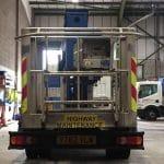 VLW truck mount platform ex fleet for sale