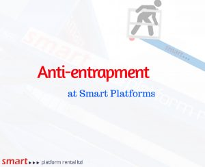 Anti-entrapment available from smart platforoms