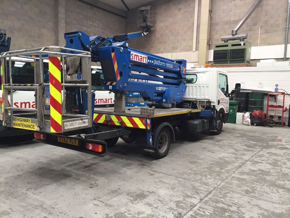 Vlv 20m truck mounted cherry picker platform for sale smart our ex fleet truck mounts are sold with full 12 month mot loler certification full service history in a fully undecaled state sciox Gallery