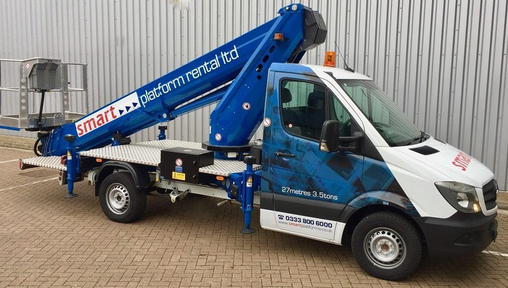 Smart Platforms S27 Truck Mounted Powered Access Platform