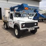 RT13 vehicle mounted powered access platform