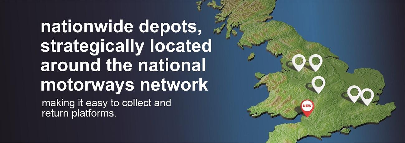 Smart Platforms Nationwide platform depots