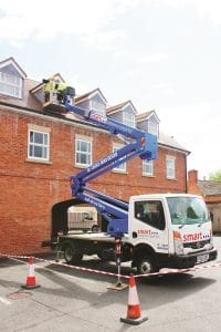 Z17 powered access platform hire