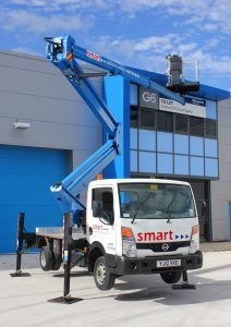 Z20 truck mounted cherry picker hire