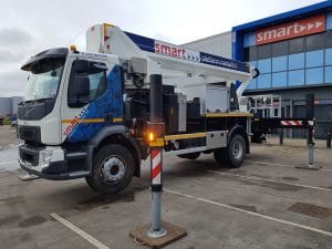 Smart Platforms S35J - 35m truck mounted cherry picker